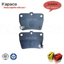 Garniture de frein Kapaco hi-q rawmetallic D1051-7955