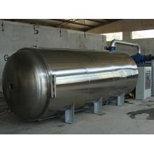 Pilot vacuum freeze dryer for food production