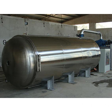 Pilot vacuum freeze dryer for food production