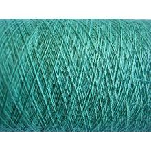 Fils teints en fibre de coton et en lin mélangés - Style mélangé