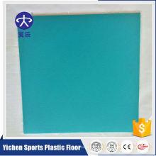 Plancher de tôle commercial homogène en PVC