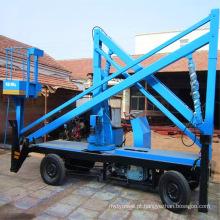 plataforma de elevação hidráulica com capacidade de 180 kg