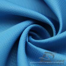Imperméable à l'eau et à l'extérieur Vêtements de sport en plein air Veste en jacquard Tissu en polyester jacquard 100% (E076)