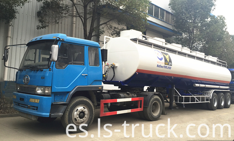 oil tank semi trailer