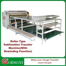 Tambor usado na máquina de transferência de calor de produção de roupas