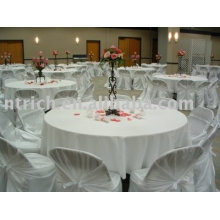 100% polyester tablecloth, hotel table cover, table overlay