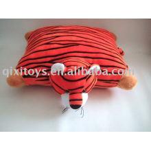 мягкие плюшевые тигр подушка крышка, мягкая животных детские игрушки подушки сиденья зима подушки