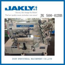 JK500-02BB Agradable a la vista Tener alta calidad de alta velocidad ROLLED-EDGE STRETCH Máquina de coser