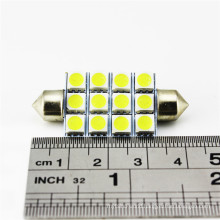 Car interior parts 31mm 36mm 39mm 41mm Led dome light 5050 smd door lamp car led trunk light