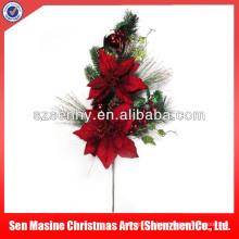 Picaretas florais de Natal de luxo