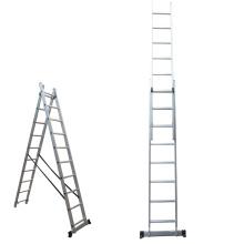 Step ladder extender 3*9 steps aluminium ladder