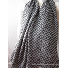 Cashmere Chess Plaid Thin Shawl