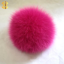 Wholesale cayenne 13cm fox fur pompom/Lovely/Custom-Made