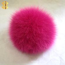 Оптовый мешок pompom лисицы кайенны 13cm / симпатичный / выполненный на заказ