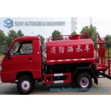 Camion de combat d'incendie de réservoir d'eau de Foton Mini 4X2 1m3
