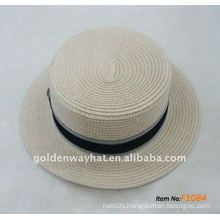 fashion paper hat top flat hats panama hats cheap for promotional