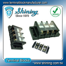 TB-060 Panel Mounted 60A Copper Busbar Terminal Block Connector