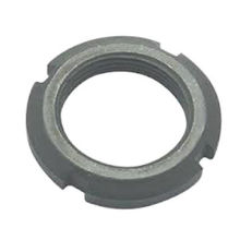 Round Slotted Nut, Steel DIN981