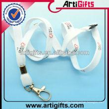 Custom polyester bungee cord lanyard