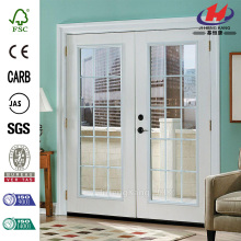 Left-Hand Inswing 15 Lite Steel Patio Door