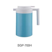 304 pote de café de aço inoxidável com recarga de vidro para casa
