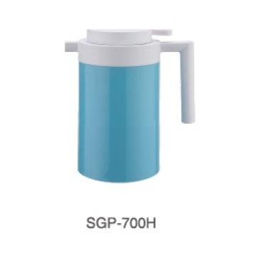 Edelstahl-Kaffeekanne 304 mit Glasnachfüllung für Haus