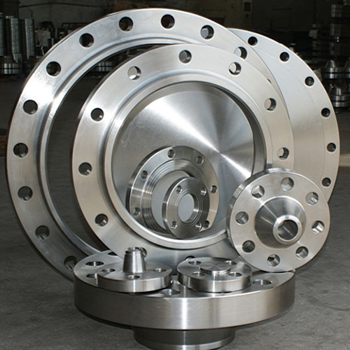 High pressure forged carbon steel A105 slip-on flange