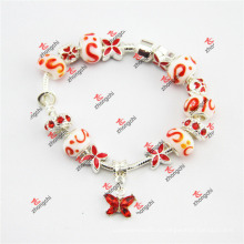 Мода Ницца стеклянные шарики очаровывает браслет ювелирные изделия (LDF60226)