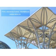 Membrane à haute résistance d'architecture de PTFE