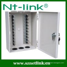 100 pares de bloqueio de chave tipo ABS caixa de distribuição montada na parede