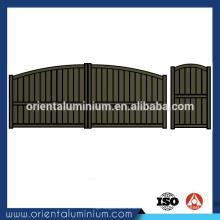 Porte d'aluminium taille standard de la porte principale