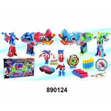 Newst design melhor escolher plástico transformação brinquedo set (890124)