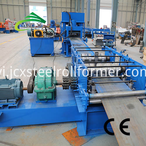 Crash Barrier Machine