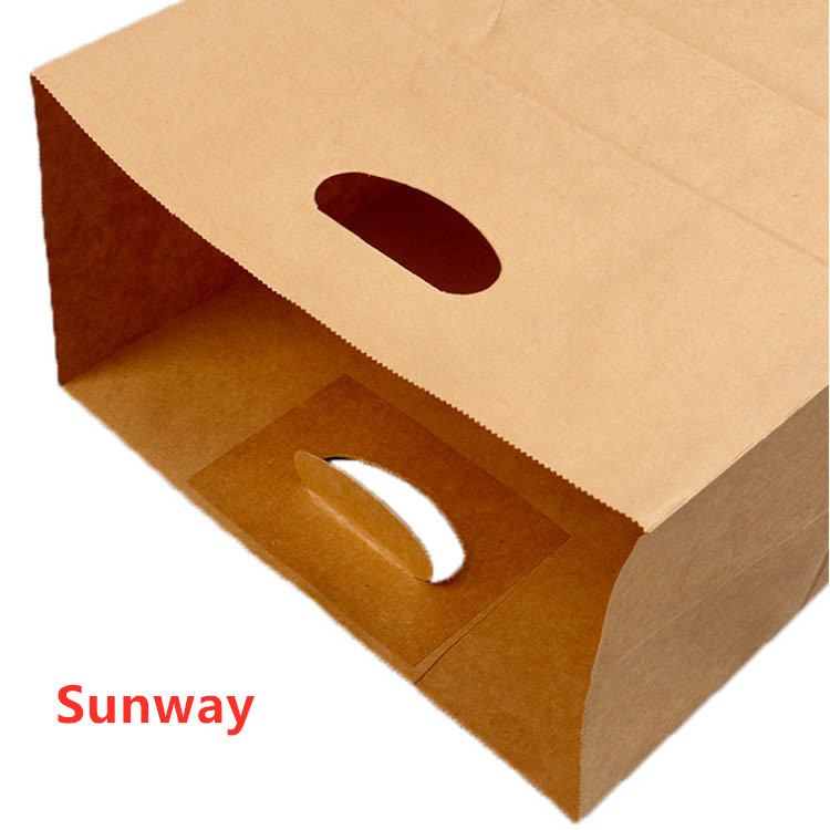 Brown paper bags without handles