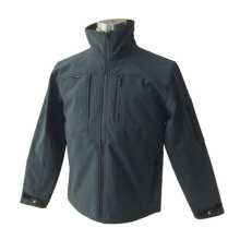 Fashion Waterproof Softshell Jacket with Zipper