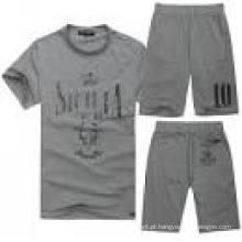 Design personalizado impressão Track Jogging Sports Suit (XY200)