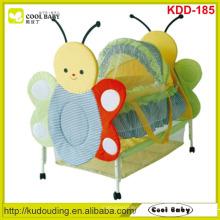 Fabrik NEUE Baby-Möbel mit niedlichen Tier-Design Portable Baby Bassinet für Neugeborenes Baby, Butterfly Moskitonetz