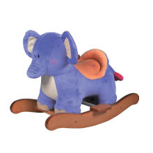 Factory Supply Rocking Horse Toy-Elephant Rocker