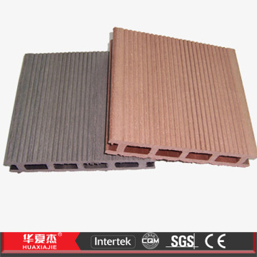 Hollow Co-extruding Brown WPC Composite Decking Boards