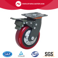 PU-Rad Bremse Platte Heavy Duty Caster