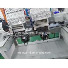 Cabeça de alta velocidade de Garmemt do tampão 2 máquina automatizada do bordado