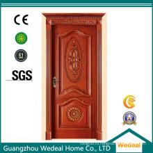 Деревянная панель двери твердой древесины каркаса для межкомнатной двери
