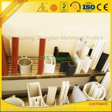 China Top fabricantes de perfil de alumínio para mobiliário / Industrial / parede de cortina