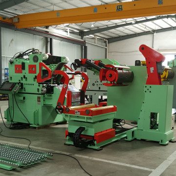 Decoiler Straightener Feeder 3 In 1 machine