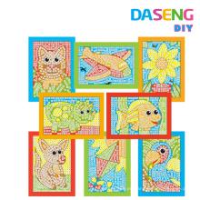 Arte de los cabritos y diversión del arte Juego de la actividad del arte del mosaico pegajoso fácil