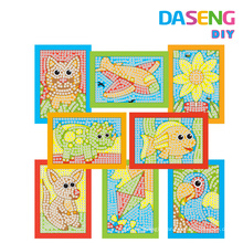 Mosaic art foam picture kits for sale