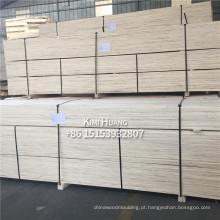 álamo, pinho LVL / LVB uso de madeira para embalagem de móveis de construção