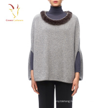 Women Cashmere Fur Shawl Kashmir Wool Shawl