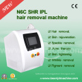 N6c Advanced Shr IPL Technology Shr Перманентная машина для удаления волос