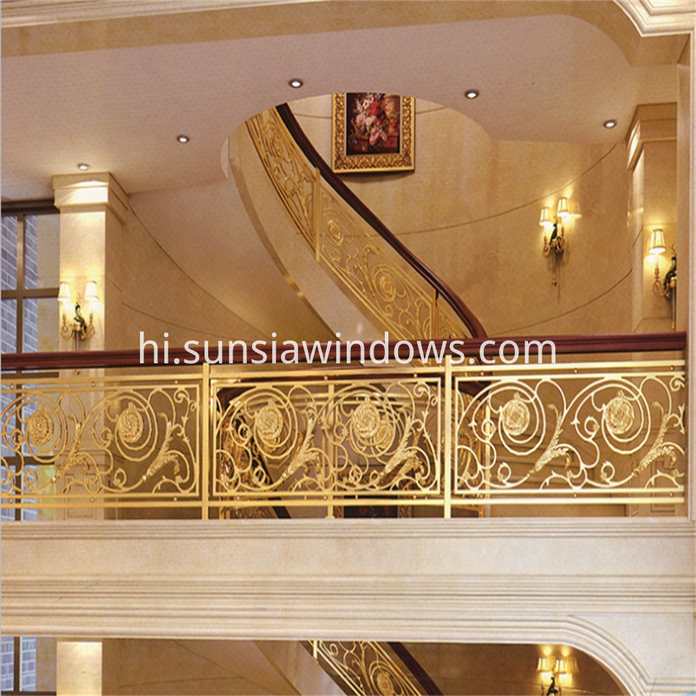 Magnesium Alloy Stair Railing